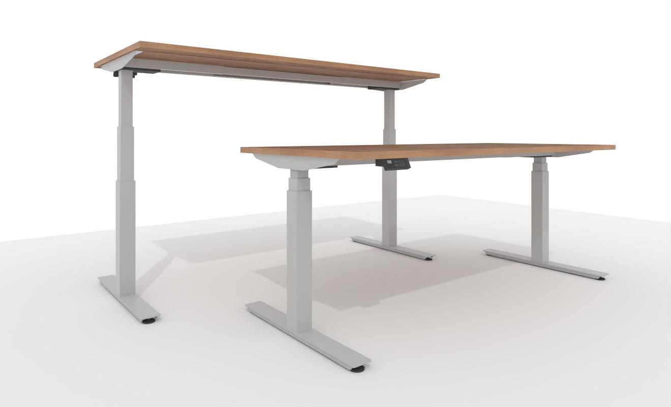 """COMO elektrisch höhenverstellbarer Schreibtisch """"adjustVARIO"""" 1808 - 1800x800x650-1300 mm"""
