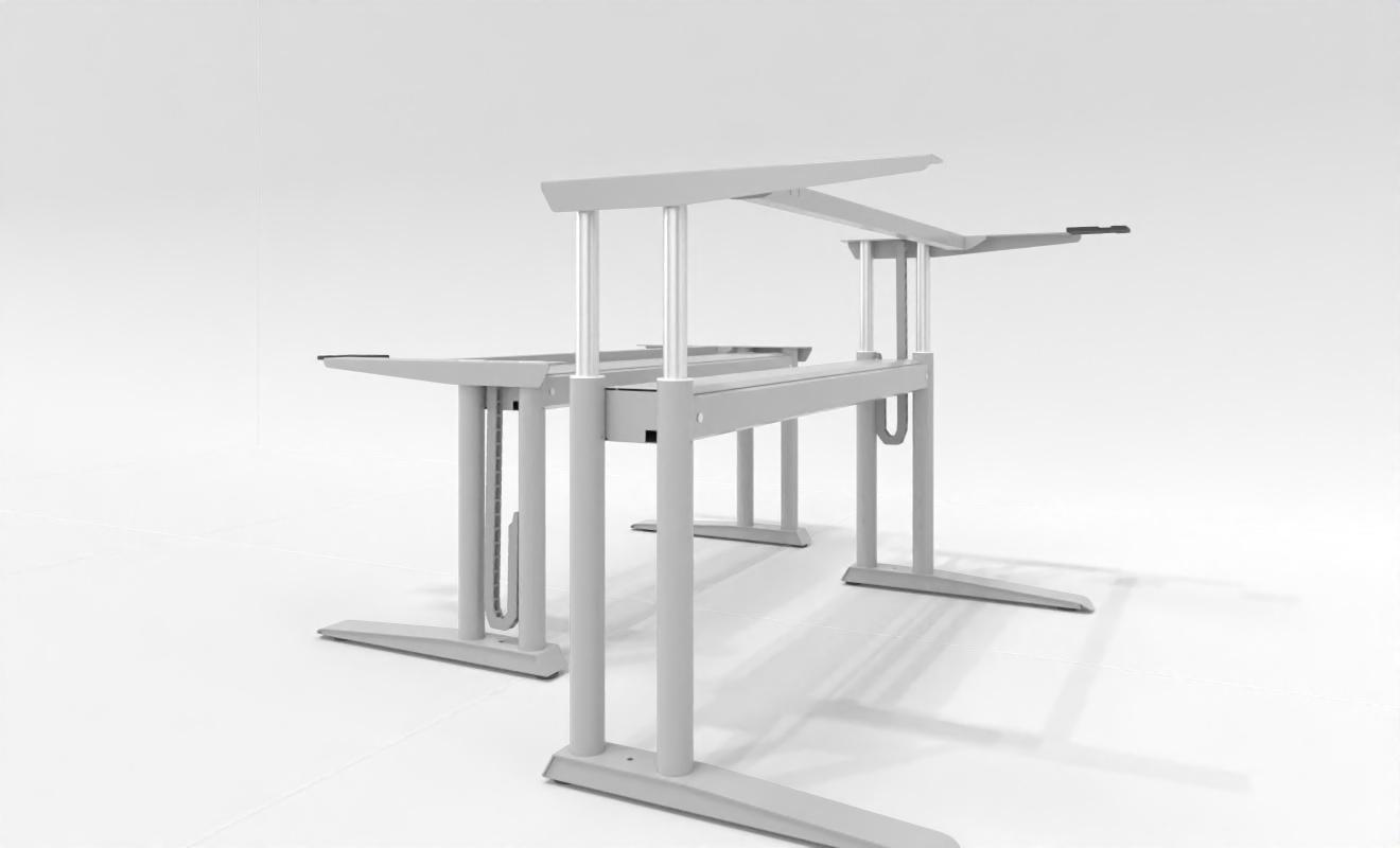 """COMO elektrisch höhenverstellbarer Schreibtisch-Gestell """"driveVARIO"""" 180872 - 1780x700x695-1225 mm"""
